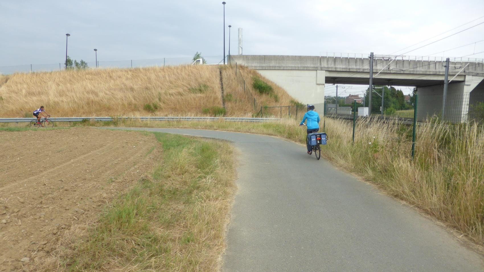 Location of the planned tunnel under Kouterstraat.