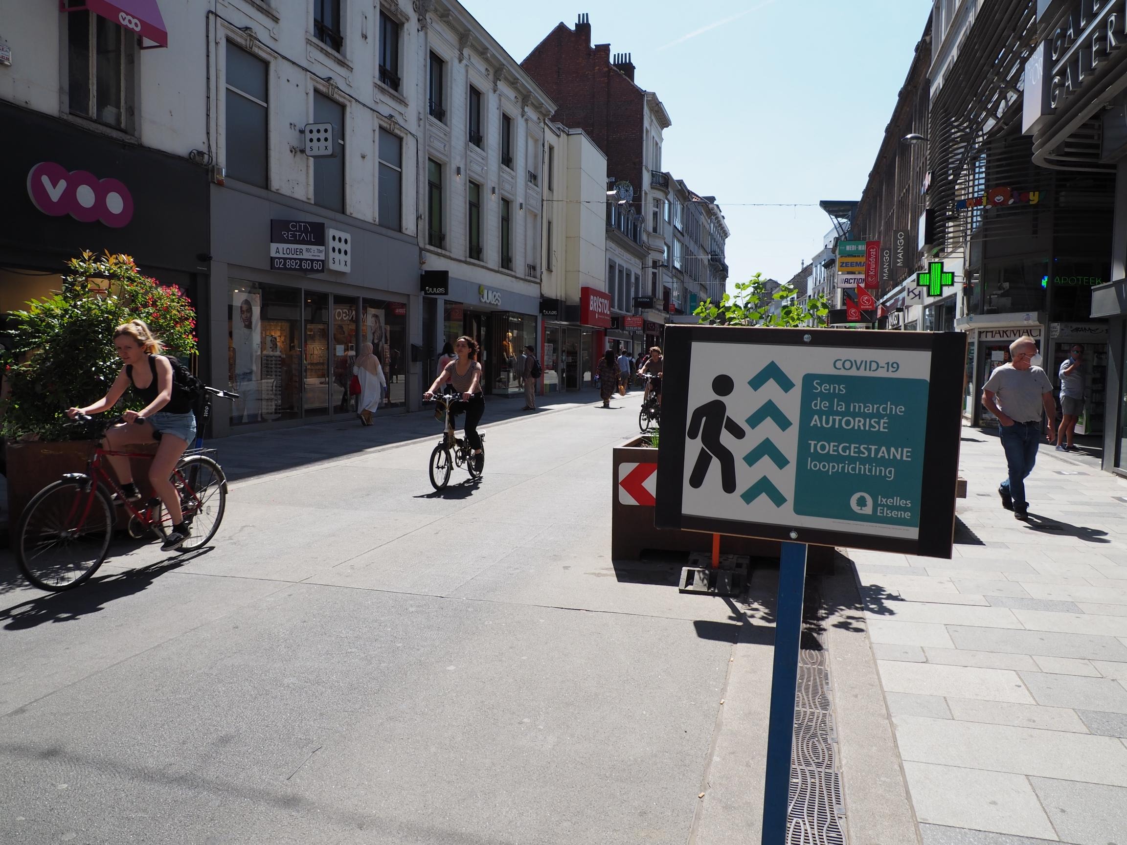 Move Aside Cars! Pop-up Cycle Lanes for a Post-Lockdown World