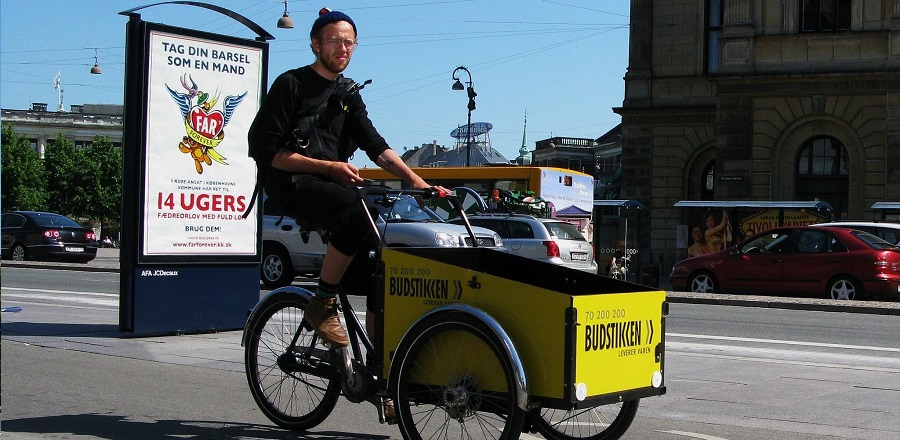 """Hot story of the month – cargo bikes are """"the next big thing"""" 