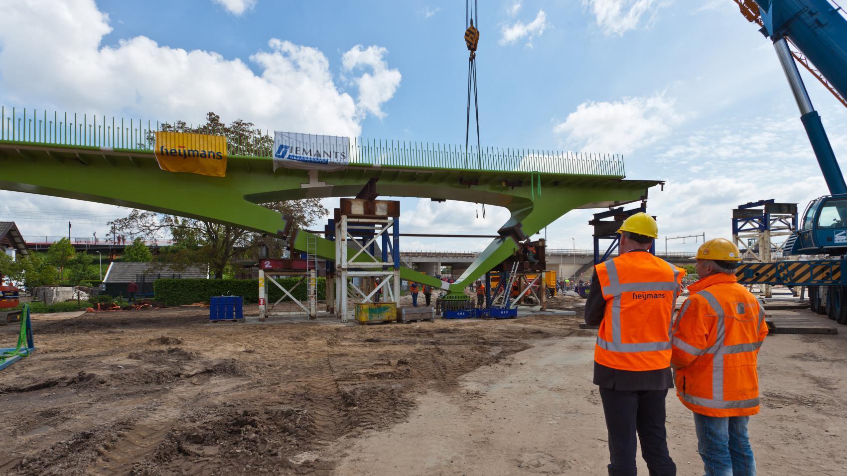 Het Grontje under construction. Photo credit: Province Gelderland.